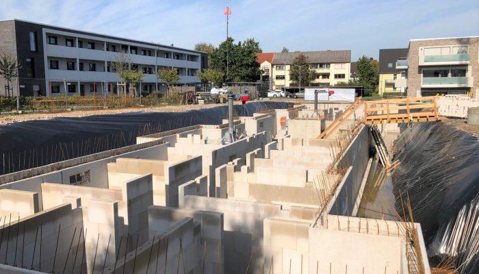 Baufortschritt Brahmsstraße 9 am 07.10.2019