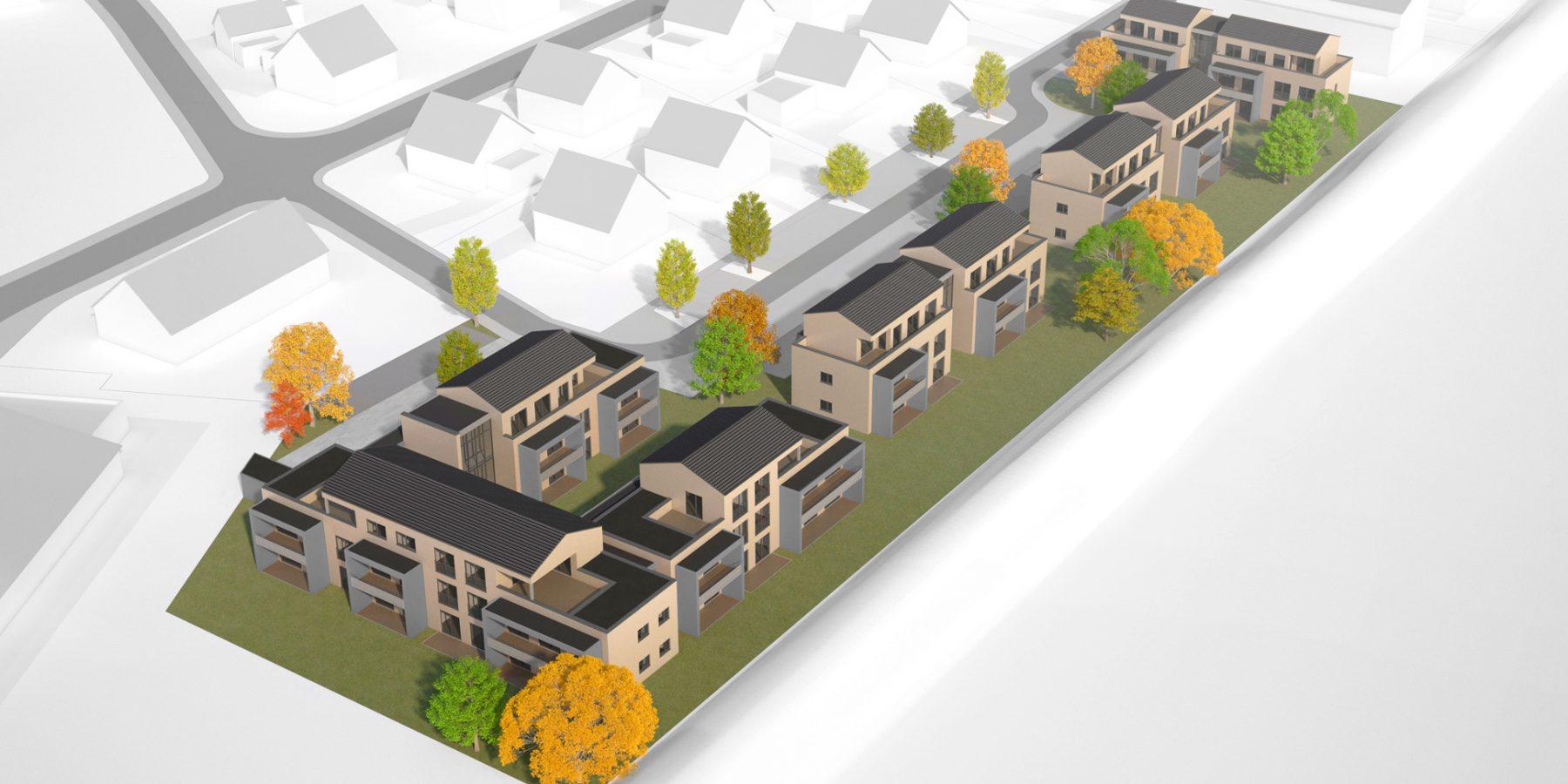Gartenquartier Augustenweg / Planung